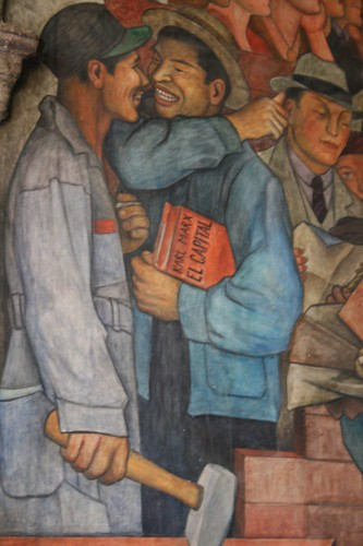 Diego Rivera Mural, Mexico City
