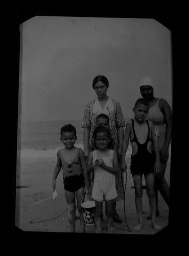 African American family at the beach | by Black History Album