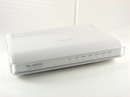 Asus WL-520GU Wireless Router | by mightyohm