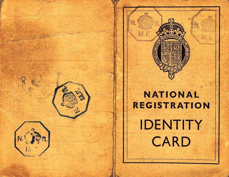 1940 Identity Card