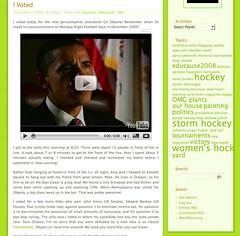 Blog - June 5 - Nov 5 2008 | by librarygrrrl