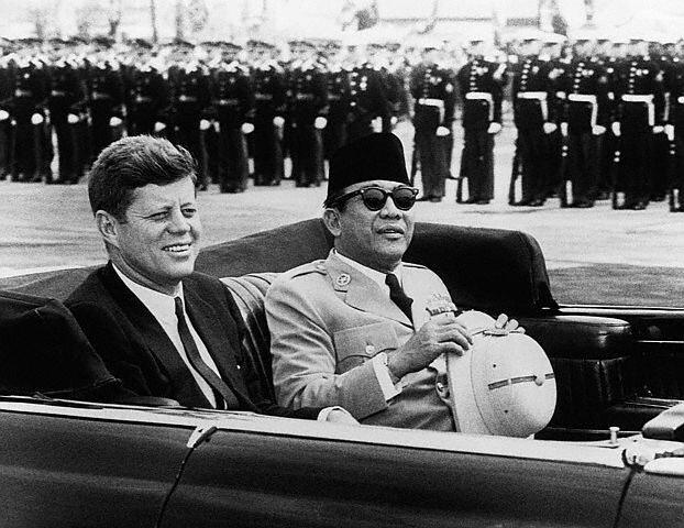 Ir Soekarno And J F Kennedy 01 24 Apr 1961 President Flickr