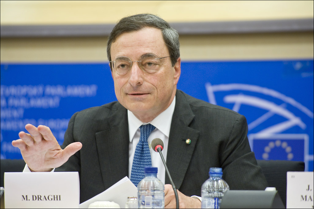 Mario Draghi presents his credentials as candidate ECB president