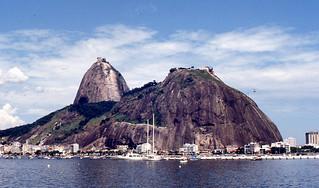 Rio de Janeiro - Sugar Loaf from Harbor