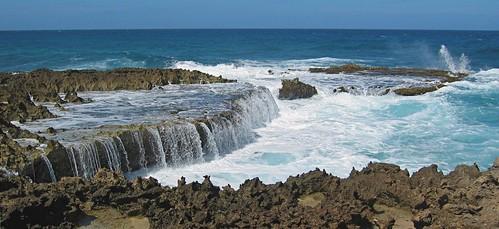 ocean winter vacation waves scenic aruba shore caribbean fabulous impressedbeauty