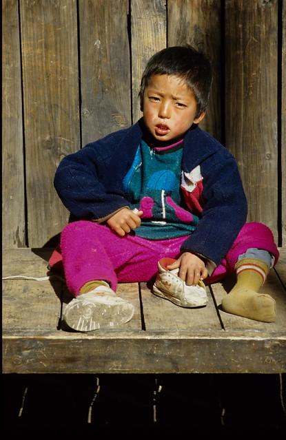 Sherpa Boy, Khumbu region, Nepal