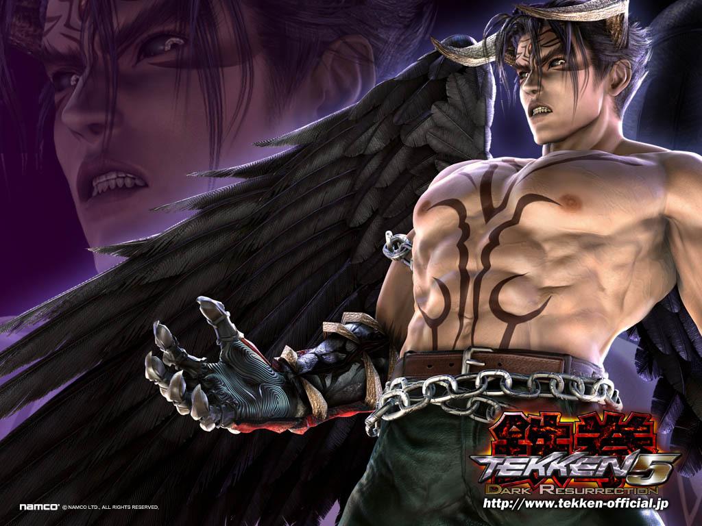 Tekken 5 Devil Jin Jack Dante Flickr