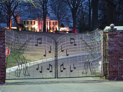 Graceland at Night   by Richard and Cindy Krause
