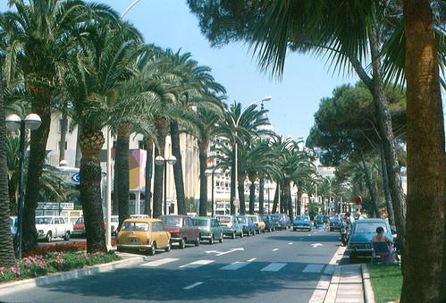 Cannes - Boulevard de la Croisette