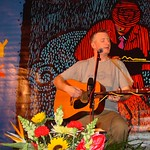 Thu, 31/01/2002 - 8:37pm - Billy Bragg performs at a WFUV Marquee event