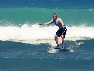 Colin on Surf Board - 2   by Colin Davis Studio