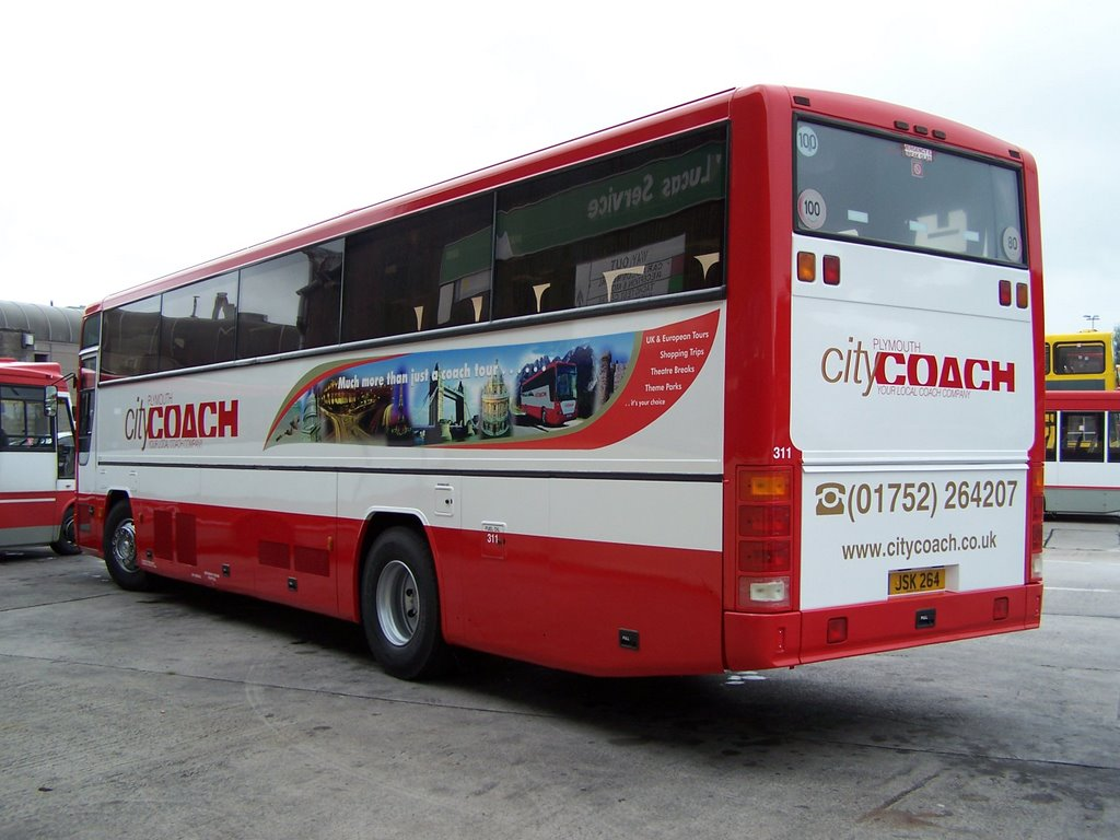 Plymouth Citybus 311 JSK264
