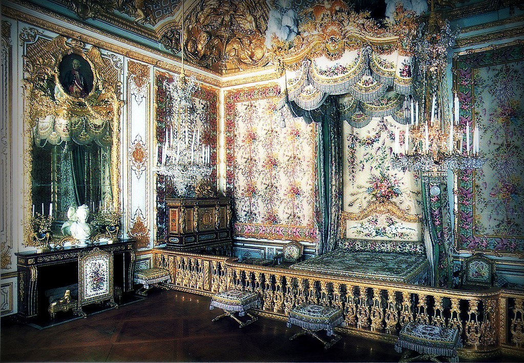 Stupendous Marie Antoinettes Bedroom Versailles Whitney Flickr Home Interior And Landscaping Palasignezvosmurscom