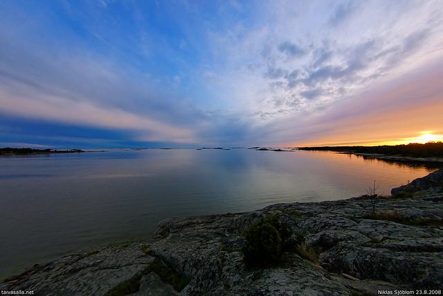 Hanko sunset
