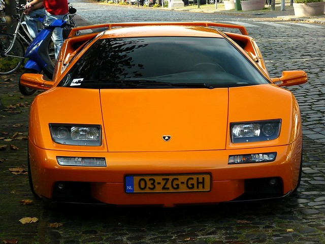 Lamborghini Diablo Vt 6 0 The Second Version Of The Vt Cou Flickr