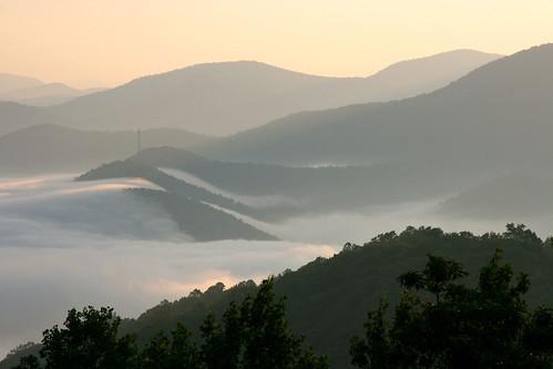 statepark sunrise georgia landscape photo blackrockmountain