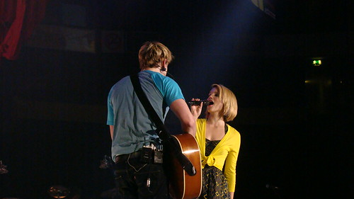 Chord Overstreet & Dianna Agron | by vagueonthehow