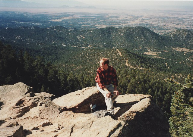 Hiking in New Mexico 1998