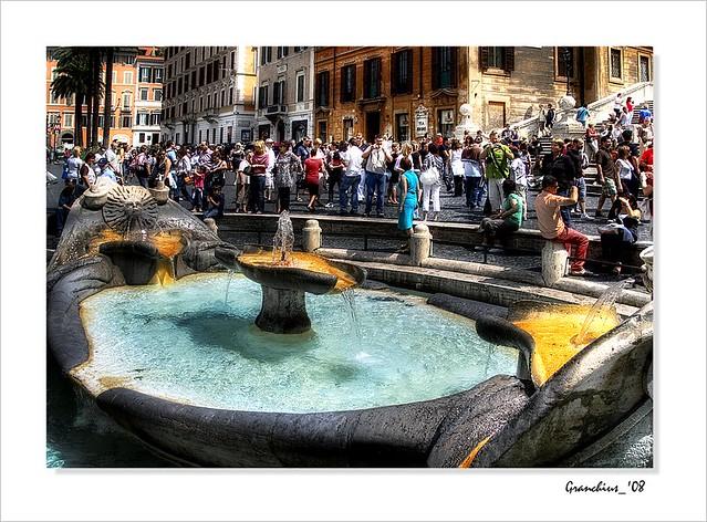 Roma - La Barcaccia