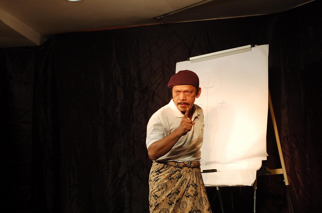 Teater Monodrama 'Jual Ubat' - Khalid Salleh #73