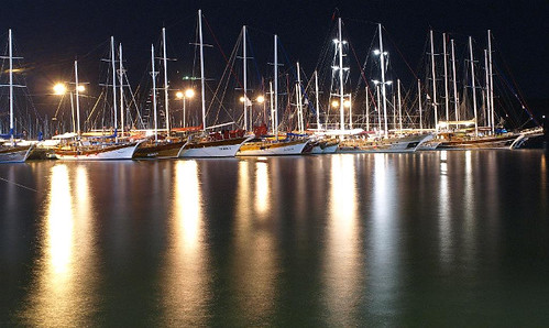 Fethiye Harbour   by Andy Bebbington