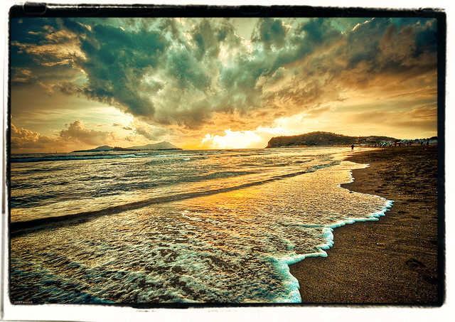Summer end at Miseno's Beach!