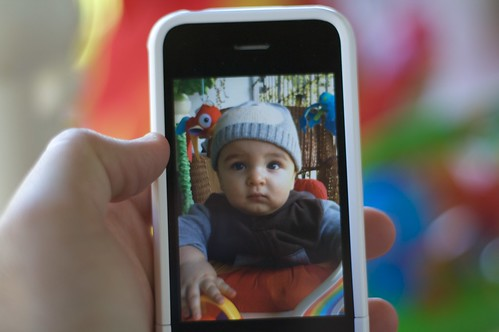 iphone baby portrait | by emerille