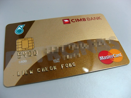 CIMB Petronas MasterCard Gold Credit Card | by liewcf