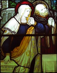 Blessed Virgin and St Joseph at the Presentation in the Temple (Bryans & Webb, 1922)