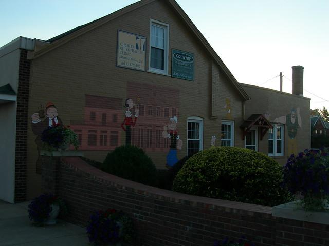 Popeye Murals