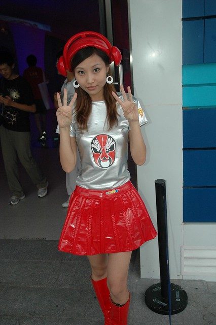 Chinese Sci-Fi Cutie shares 3 finger