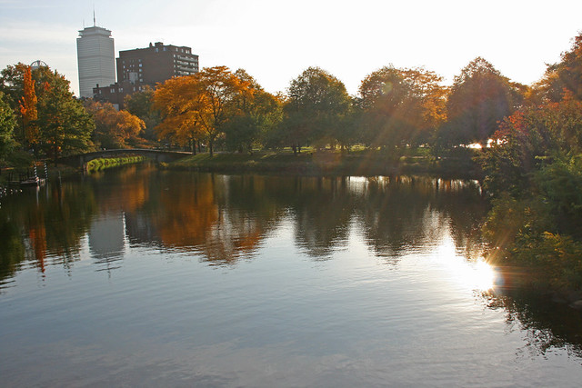 Charles River Fall Reflections