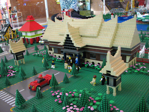 Rumah Gadang - Lego Mini Indonesia   Rumah Gadang a ...