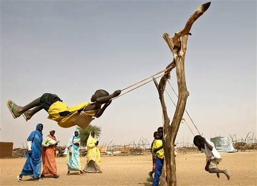 Children of Darfur at play