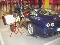 Ferrari pulido, limpieza de cuero y especial plasticos en Plaza Norte 2 CHAPO