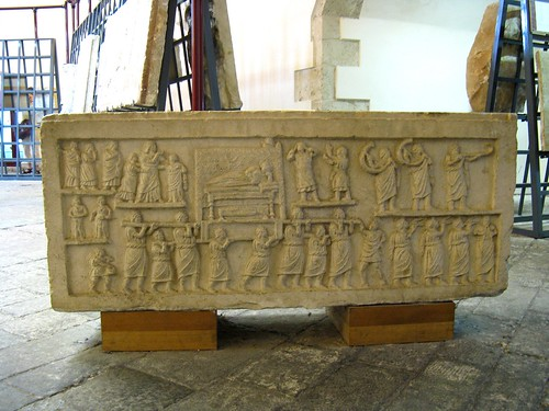 Amiternum funerary procession relief | by Lady Erin