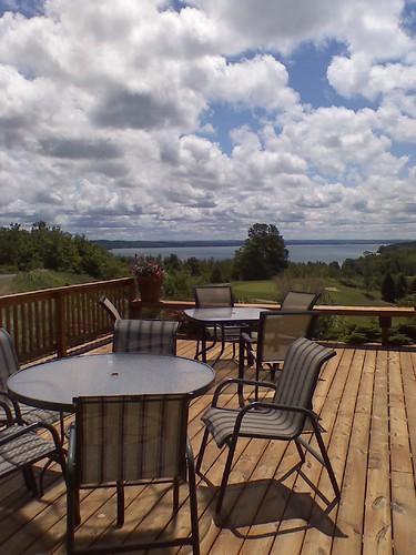 vacation lake clouds golf lg patio torch env agaming
