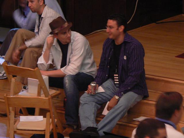 Bob Stewart and Brian Block