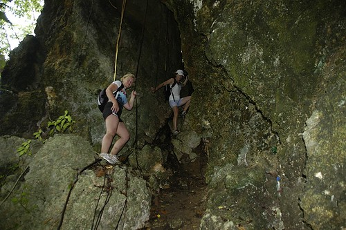 Barbados Hiking - Monkey Jump Crevice | by smendes
