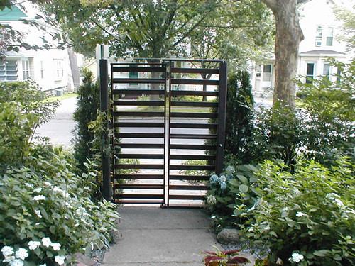 Diy Futon Frame Turned Into Garden Gate A Diy Turned A B Flickr