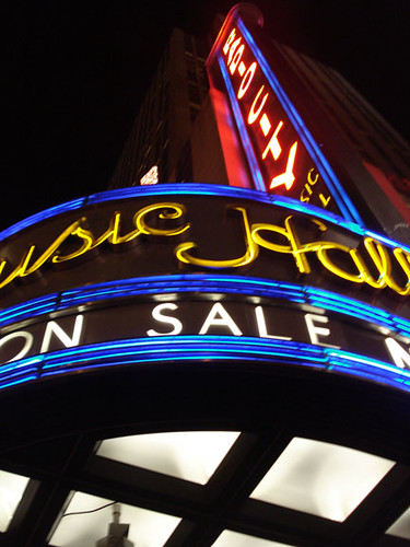 Radio City Music Hall | by @NYCphotos-flickr