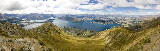 Roy's Peak Panorama 2