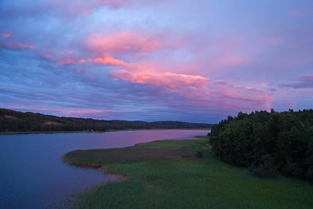 Sonnenuntergang Brücke #3