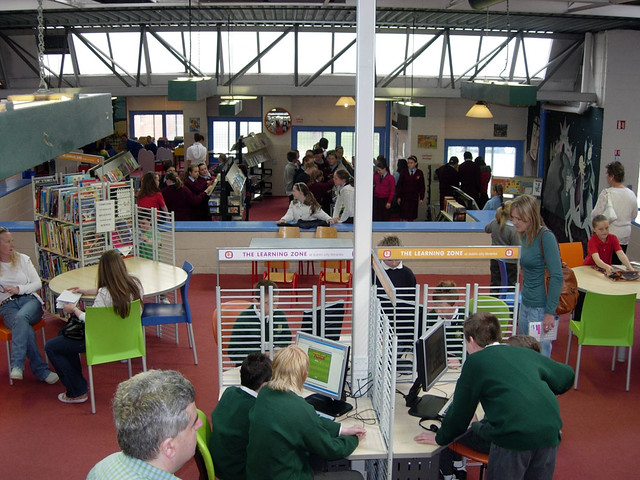 Learning Zone Launch at Ballyfermot Library