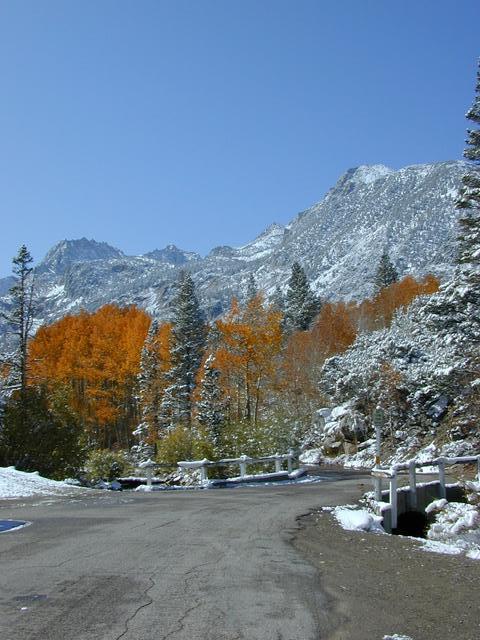 Road to Sabrina Lake