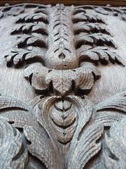 Palais de Justice carving