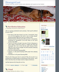 Blog - July 2005 - May 2006 | by librarygrrrl