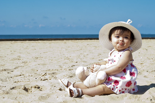 baby beach children toddler child
