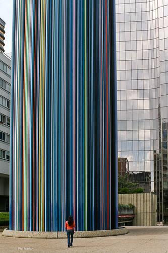 Cheminee Moretti - La Defense, Paris | by Phil Marion (173 million views - THANKS)