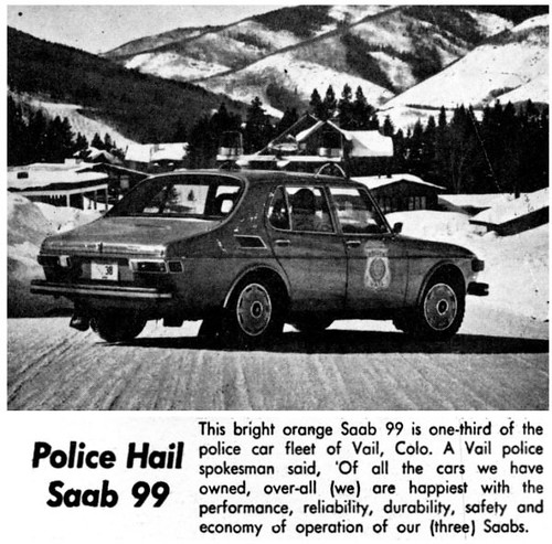 A D on Vintage Pittsburgh Police Cars